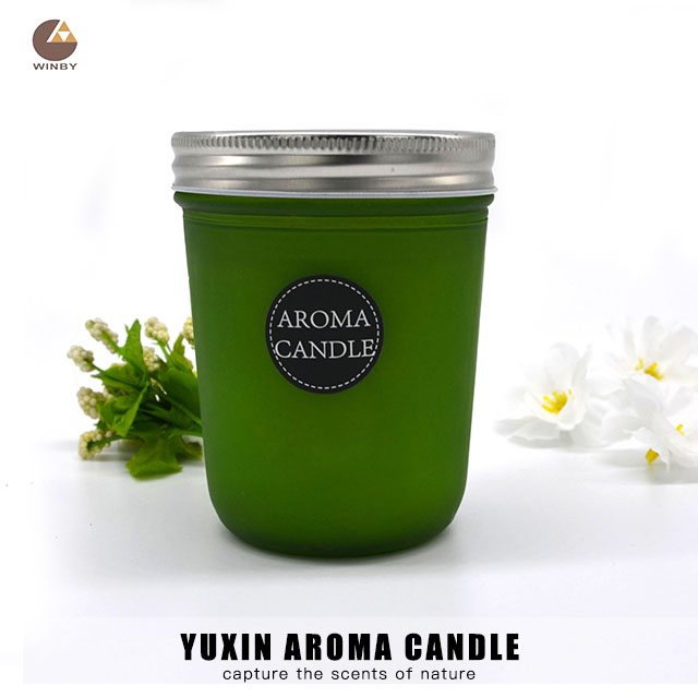 Aroma Glass Candle CB03M