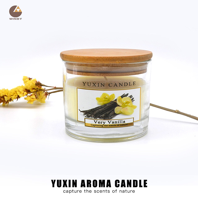 Aroma Glass Candle A10T