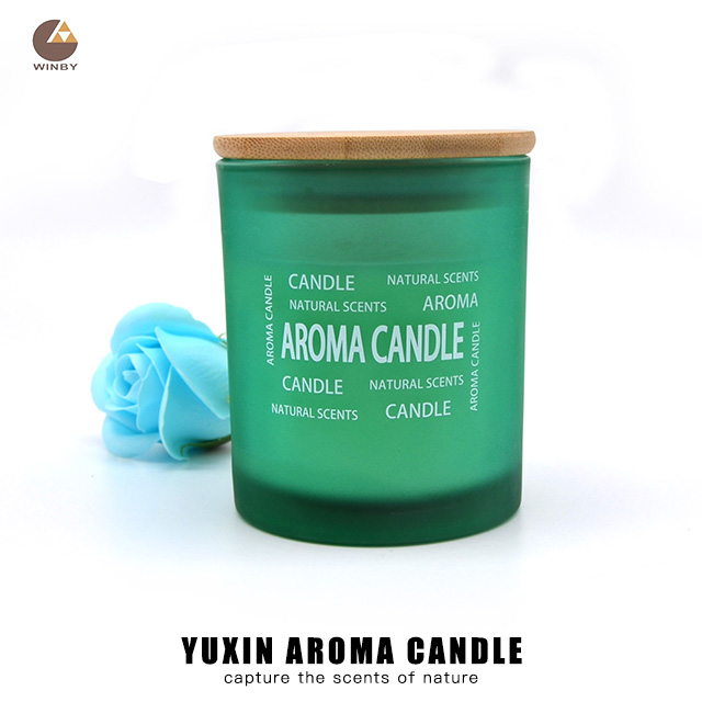 Aroma Glass Candle A08MZ
